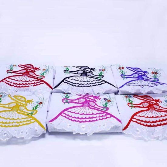 Pano de Prato Boneca com Lese Estampas Variadas 40cm x 65cm - GNC