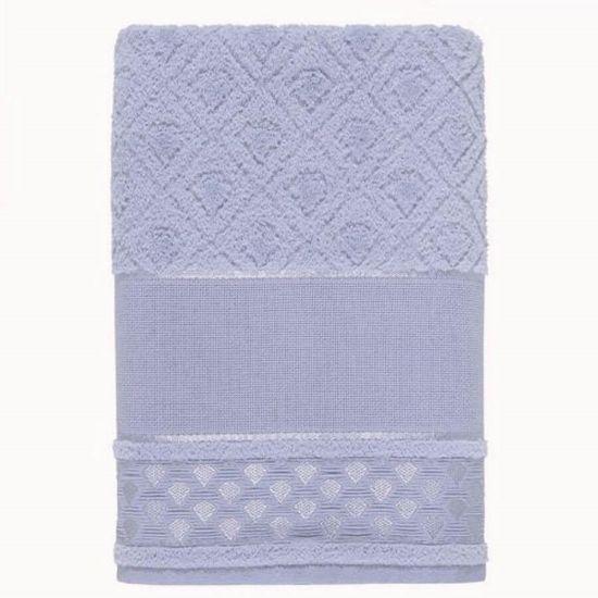Toalha de Banho Alice Para Pintar 67cm x 1,40m - Karsten - Baby Blue 30102
