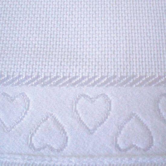 Toalha de Lavabo Baby Love Para Bordar 30cm x 45cm - Dohler - Branco 07