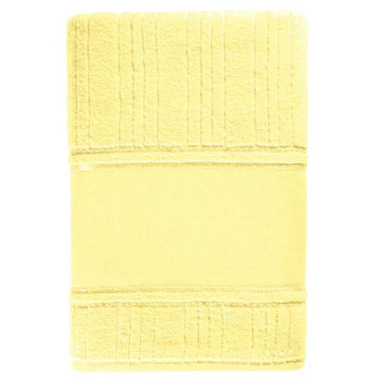 Toalha de Lavabo Janine Para Pintar 33cm x 45cm - Karsten - Amarelo 196