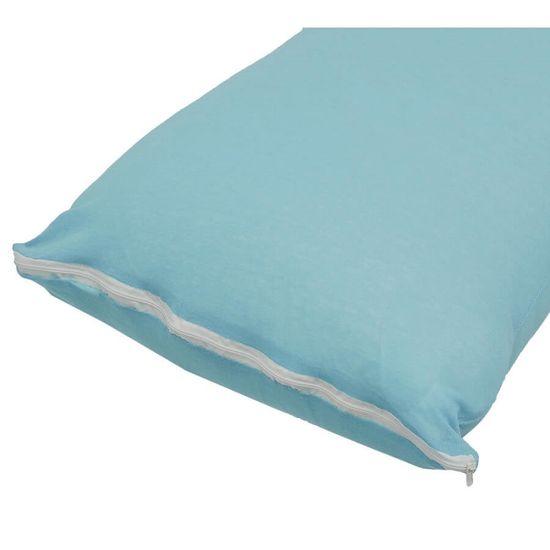 Capa Para Travesseiro com Zíper 50cm x 70cm - Sul Brasil - Azul
