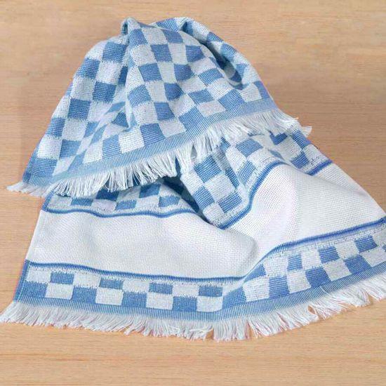 Pano de Prato Verona Para Bordar 41cm x 60cm - Dohler - Azul 3919