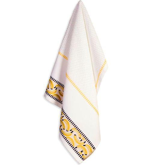 Pano de Prato Messina Para Bordar 49cm x 70cm - Karsten - Banana
