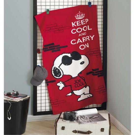 Toalha de Praia Velour Estampado IV Snoopy 76cm x 1,52m - Dohler Snoopy 07