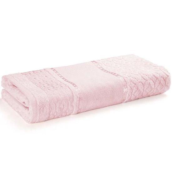 Toalha de Rosto Paola II Para Bordar 49cm x 80cm - Karsten - Rosa Cristal 229