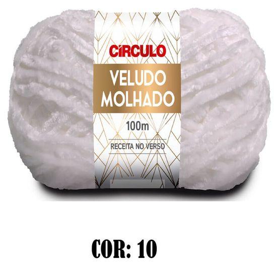 Fio Veludo Molhado 100 Gramas com 100 Metros - Circulo Lã Veludo Molhado 100 Gramas com 100 Metros - Circulo - 10