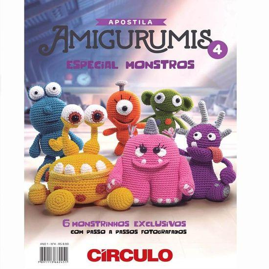 Apostila Amigurumis Nº 04 - Circulo