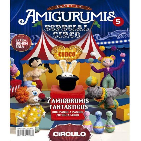 Apostila Amigurumis Círculo S/A | 550x550