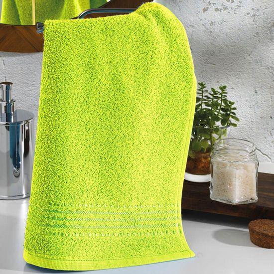 Toalha de Lavabo Felpudo Prisma Liso 30cm x 45cm - Dohler Verde 7043