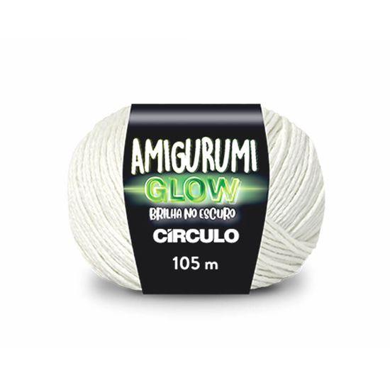 Fio Amigurumi Glow Brilha No Escuro 105 MT - Círculo