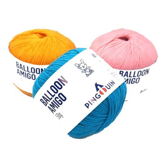 Fio Balloon Amigo 50 gramas - Pingouin - Surf 8508